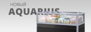 Новая модель бонеты Aquarius - энергоэффективное решение для импульсных продаж замороженной и охлажденной продукции.